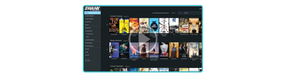 Watch this short video to learn about what's new in our streaming portal.